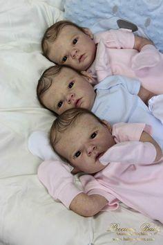 Маленькие зайчики! Куклы реборн Анастасии Бочковой / Куклы Реборн Беби - фото, изготовление своими руками. Reborn Baby doll - оцените мастерство / Бэйбики. Куклы фото. Одежда для кукол