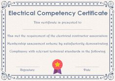 Certificate of Competency: 22 Templates in Word, Excel and PDF - Template Sumo Certificate Templates, Assessment, Free Printables, Sumo, Pdf, Words, Free Printable, Business Valuation, Horse