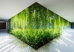 Vietnam spa by MIA Design Studio features latticed walls and hanging gardens