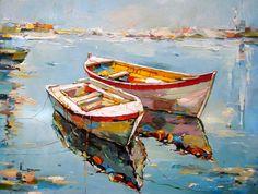 Barcos en la orilla 002