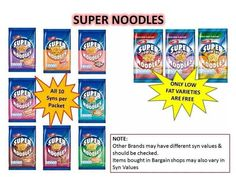Slimming World Noodles, Slimming World Syn Values, Slimming World Snacks, Slimming World Recipes Syn Free, Slimming World Plan, Slimming Worls, Syn Free Food, Noodles And Company, Inspirational Gifts