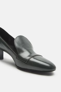 // Pierre Hardy Belle Loafer - Army  Reminds me of something Catherine Deneuve would've worn in Belle du Jour