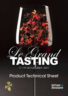 2017 Grand Tasting Technical Sheets