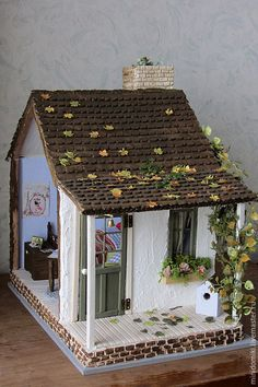 Miniature Crafts, Miniature Houses, Miniature Dolls, Doll House Crafts, Home Crafts, Diy Crafts Hacks, Diy And Crafts, Silikon Baby, Vitrine Miniature