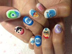 Monsters, Inc. Nails! | Tokyo Otaku Mode β