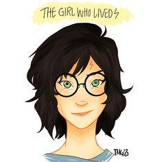 genderbent Harry