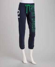 Navy Notre Dame Fighting Irish Sweatpants - Women by College Classics #ND $16.99