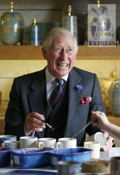 Prince Charles in Scotland.
