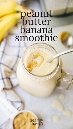 Yummy Smoothie Recipes, Tasty Vegetarian Recipes, Healthy Smoothies, Healthy Drinks, Healthy Recipes, Smoothies With Almond Milk, Breakfast Smoothie Recipes, Fun Baking Recipes, Wine Recipes