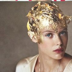 Gold hair!