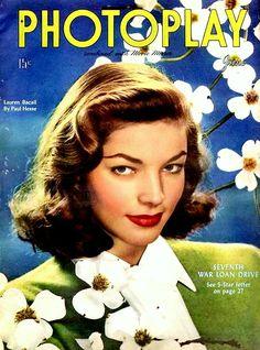 Lauren Bacall, Photoplay Magazine