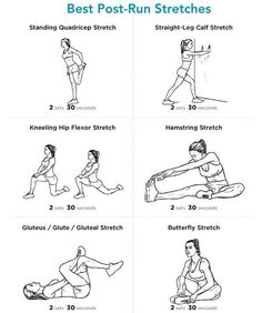 Best Post-Run Stretches Stretching after a run is very important. It helps relieve tension and soreness increases flexibility and helps prevents injury. Do these 6 Post-Run Stretches after your. Fitness Workouts, Fitness Motivation, Running Workouts, Running Tips, Daily Motivation, Fitness Pal, Running For Beginners, Fitness Quotes, 5k Training For Beginners