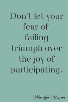 Fear of Failing - great post by @addapinch   Robyn Stone