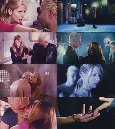 buffy the vampire slayer- i wish there had been more of her & spike togetherness. He was my absolute favorite.