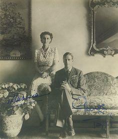Herzog George and Herzogin Marina von Kent, Duke and Duchess of Kent  by Miss Mertens, via Flickr