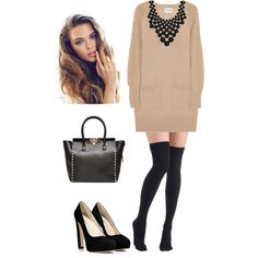 """""""Comfy, chic and modern outfit"""" by natihasi on Polyvore"""