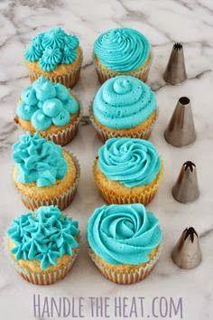 Cupcake Decorating Tips ~ how to make diy craft