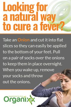 Did you know that you can treat a fever naturally with something as simple as onion? For more amazing health hacks please follow through!
