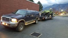 EX and cj8 Ford Excursion, Badass, Truck, Toy, Trucks, Toys