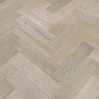Oak White Herringbone Parquet Brushed and Lacquered Engineered Wood Flooring… Tin Ceiling Kitchen, Grey Kitchen Walls, Kitchen Flooring, Engineered Parquet Flooring, Kitchen Tile Inspiration, Kitchen Colour Combination, Kitchen Window Coverings, Diy Wood Floors, Kitchen Island Decor