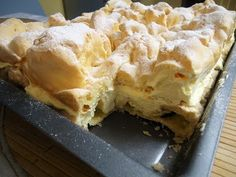 pl:: Przepisy kulinarne w jednym miejscu. Polish Recipes, Polish Food, Different Cakes, Dessert Recipes, Desserts, Cream Cake, Other Recipes, Christmas Treats, Cheesecakes