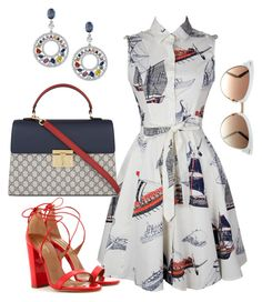 """Yacht Party"" by arta13 on Polyvore featuring Aquazzura and Gucci"