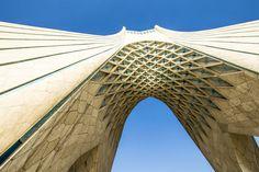 Bordž-e Ázádí (Azadi Tower), Tehran, Iran #azadi #tower #tehran #teheran #iran #freedom #Shahyad #city #architecture