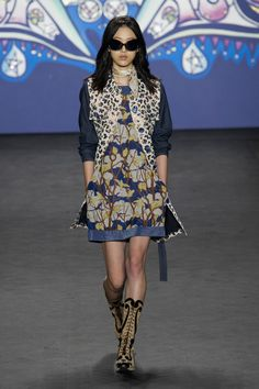 Anna Sui Fashion | anna-sui-fashion-show-spring-2015-the-impression-013