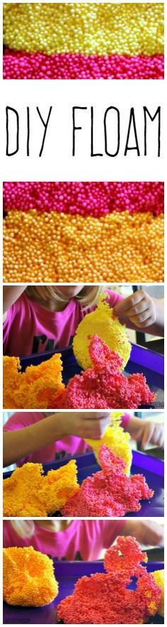 With just a few simple ingredients you can now make your own DIY FLOAM at home! With a fool proof recipe and easy technique your kids are bound to love it! The post DIY Floam! appeared first on DIY Crafts. Projects For Kids, Diy For Kids, Craft Projects, Crafts For Kids, Diy Floam, Diy Slime, Craft Activities, Toddler Activities, Diy Home Crafts