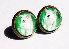 Animal Fans Collection Earrings  Little by boysenberryaccessory, $8.00