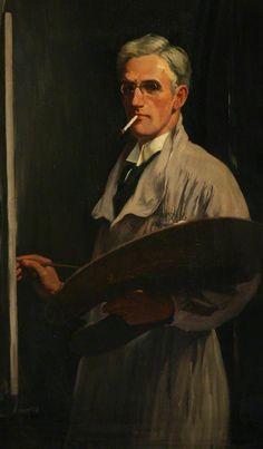 David Prophet Ramsay (1888–1944) Self Portrait