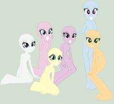 :BASE: :SINGLE-LINED: Equestria Girls Group Base by rustics.deviantart.com on @DeviantArt
