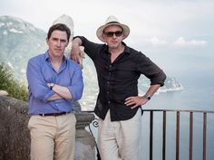 Rob Brydon and Steve Coogan's Italian road trip - The Trip to Italy BBC - Italy travel guide Movies To Watch, Good Movies, Rob Brydon, Lizzie Mcguire Movie, Letters To Juliet, I Love Cinema, Thrillers, Movie List, Italy Travel