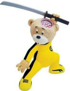 """Killed Bill"" - http://www.badtastebears.fr"