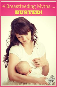 Four breastfeeding myths that simply aren't true. | Fit Bottomed Mamas