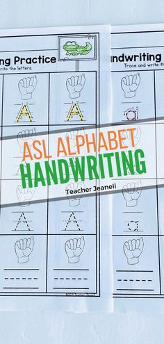 Handwriting Alphabet, Handwriting Practice, Alphabet Signs, Letters, American Sign Language, How To Memorize Things, Teacher, Students, Calligraphy Practice