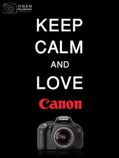 I love Canon cameras!