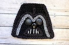 Ravelry: Darth Vader Star Wars Applique pattern by Happiness And Yarn