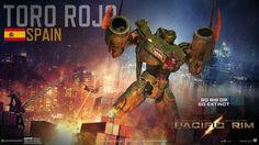 Pacific Rim - Toro Rojo [ES] by WormWoodTheStar on deviantART