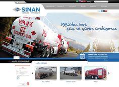 Sinanlı Tanker Ltd. Şti. Web Site tasarımı 4 dilde kodlanmış ve tamamlanmıştır...
