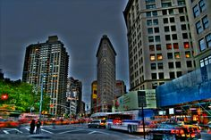 All sizes | Fun with HDR: Flatiron Building | Flickr - Photo Sharing!