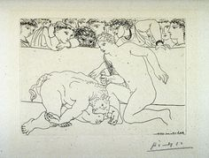 Image result for picasso minotaur drawings