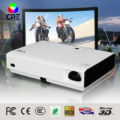 736.00$  Buy now - http://alidvd.worldwells.pw/go.php?t=32678561473 - HD 1080P With 3d Function DLP Projector for school and office video digital projection advertising equipment proiettori laser 736.00$