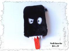 großes freches Monster Blacky von Sofeinsein auf DaWanda.com