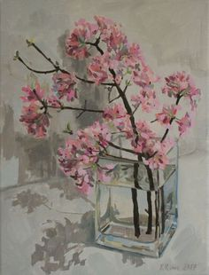 Buy Viburnam Blossom, Oil painting by Katharine Rowe on Artfinder. Discover thousands of other original paintings, prints, sculptures and photography from independent artists.