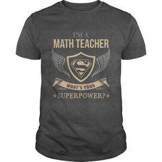 MATH TEACHER SUPERPOWER