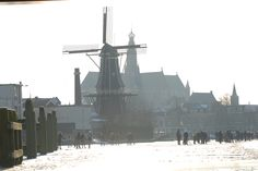 Haarlem on ice! Picture by Jelle Beetstra.