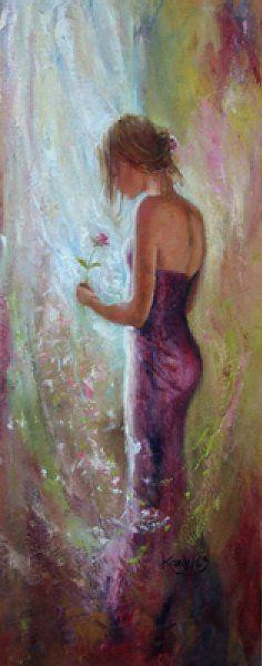 Mist of Dreams | Karen Wallis | British Figurative painter | Tutt'Art@ | Pittura * Scultura * Poesia * Musica |
