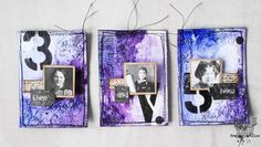 france papillon | Now and Then: an ATC tryptich for Mixed Media Place
