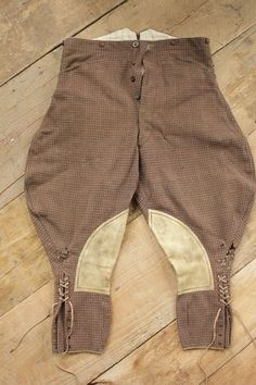 vintage riding breeches